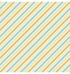 Vintage diagonal stripe seamless pattern tiling vector