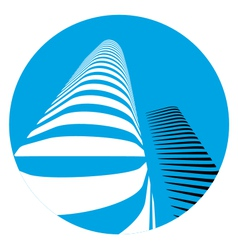 office buildings icon vector image vector image