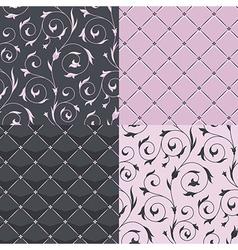 pattern modern set vector image vector image
