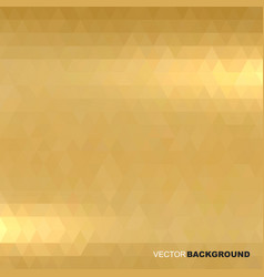 shiny metallic gold texture blur background vector image