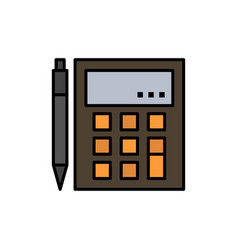 accounting account calculate calculation vector image