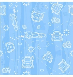 background car vector image vector image