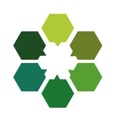 Corporate emblem icon vector
