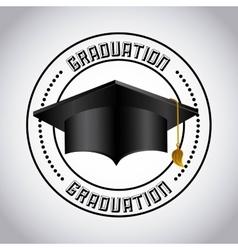 Education set flat icons vector