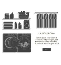 Loundry room vector