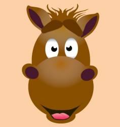 Mascot horse vector