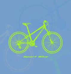 Sport-bike vector image