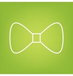 Bow Tie line icon vector image vector image