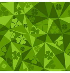 Saint Patricks Day seamless pattern vector image vector image