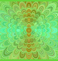abstract digital flower mandala art background vector image