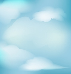background clouds for decoration vector image
