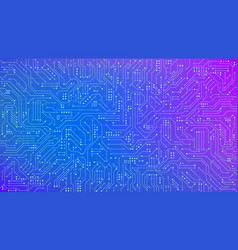 color circuit board texture for banner abstract vector image