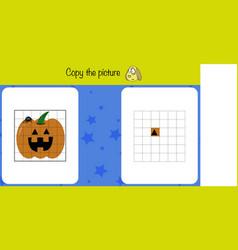 Copu picture children education game iq test vector