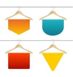 Hanger Sale Banner Set vector