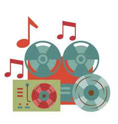 Instrument and equipment festival music vector