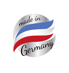 made in france quality label on white vector image