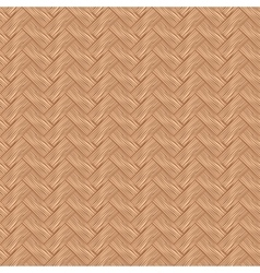 Seamless pattern wicker cherry wood color vector