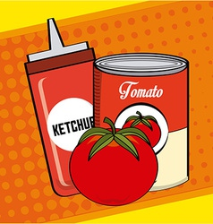 Tomato product vector