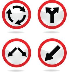 Traffic sign 7 vector