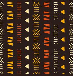 Tribal creative seamless pattern vector