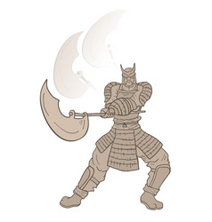 Warrior attack vector