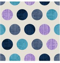 seamless abstract polka texture vector image vector image