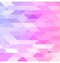 Colorful pink violet polygonal background vector image