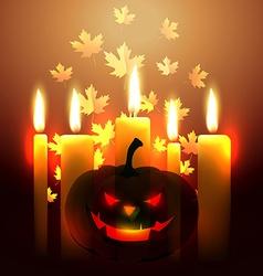 Scary halloween design vector