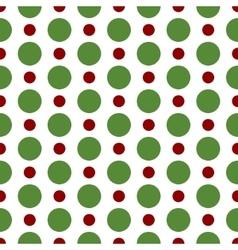 Seamless polka dot background vector