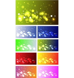 sparkling backgrounds vector image vector image