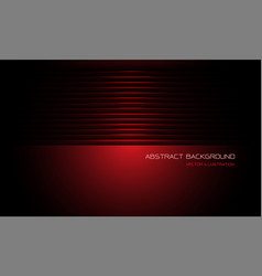 Abstract red metallic shutter dim light with blank vector