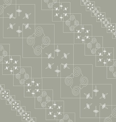 Abstraction on grey vector image