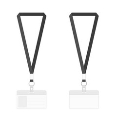 blank badges template vector image