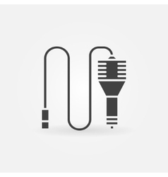 Car charger icon or logo vector image