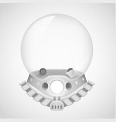 Cosmonaut helmet astronaut spaceman tantamareska vector