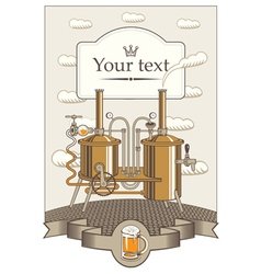 Beer king vector