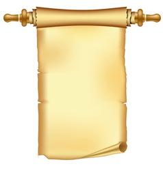 vintage scroll vector image vector image