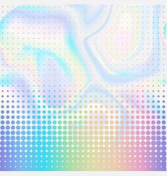 Abstract halftone seamless border vector