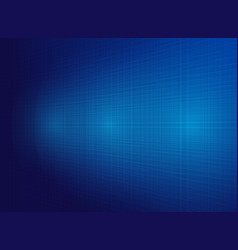 abstract technology blue lines background vector image