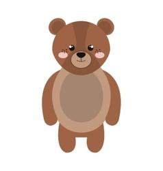 bear animal cartoon vector image