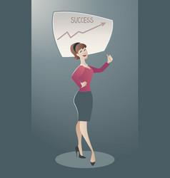 business cartoon-01 vector image