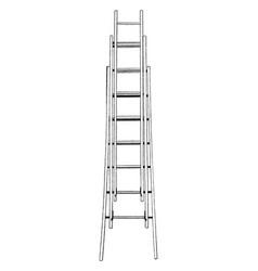 Extension ladder vintage vector