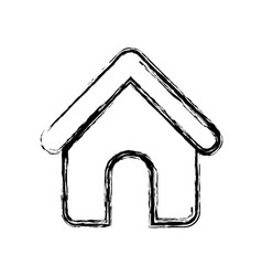 House shape icon vector