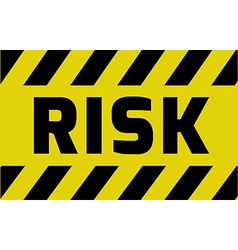 Risk sign vector