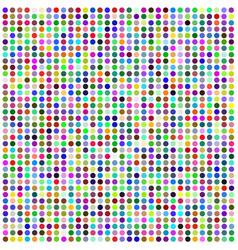 set of colorful circles vector image