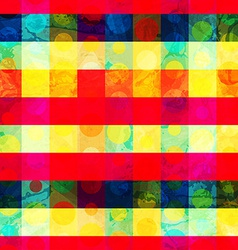 bright grid seamless pattern vector image