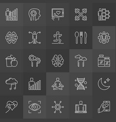 Do-it-yourself biology icons vector