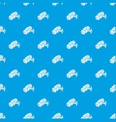 door knob pattern seamless blue vector image