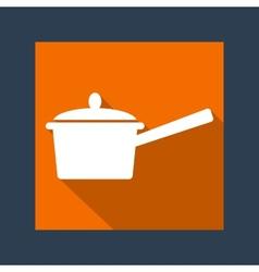 Handle pot vector