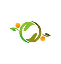 Health life nutrition vector
